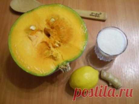 Варенье из тыквы с имбирем и лимоном - пошаговый рецепт с фото на Повар.ру