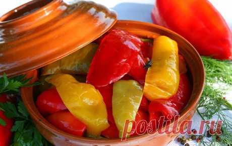 Маринованный сладкий перец: 8 ярких рецептов |