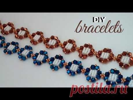 Easy Beaded Bracelets Anyone Can Make. Beginner Beading Tutorial