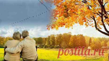 """""""Осень жизни, как и осень года, надо, не скорбя, благословить..."""" исп. Павел Соколов"""