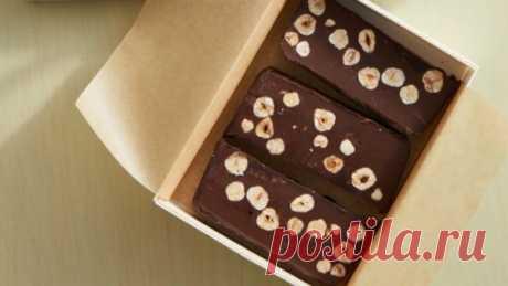 Простой рецепт шоколадно-орехового щербета