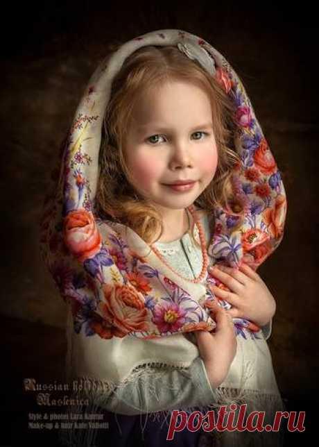 Детский портрет.Фотограф- дизайнер Лара Кантур.