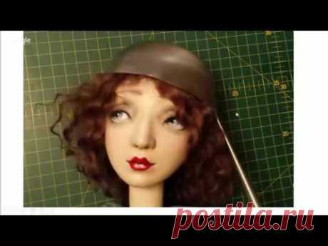How to make a hat for a doll. Elena Koverzneva's MK. How to make doll's hat.