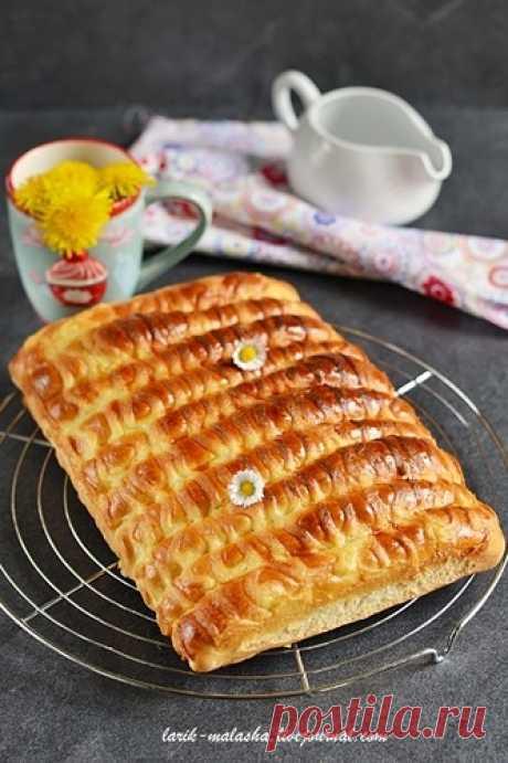 Очаровательные сдобные булочки-сайки с заварным кремом