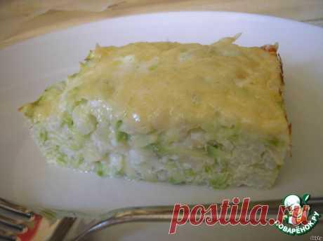 Запеканка из риса и кабачков. Автор: dolphy