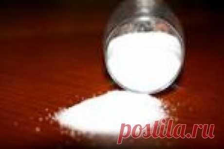 Чистка солью с возвратом