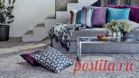 Как быстро изменить интерьер с помощью декоративных подушек