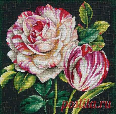 Красивые цветы вышивка  без регистрации. Гобелен схемы Красивые цветы вышивка  без регистрации. Гобелен схемы