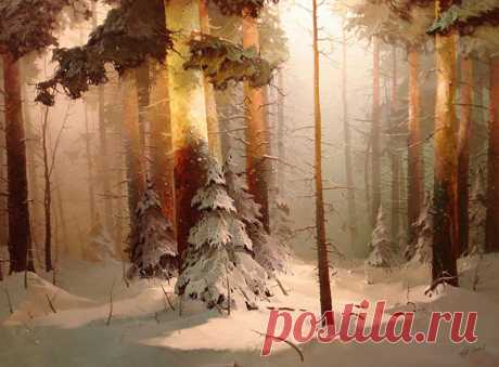 Художник Виктор Быков   Виктор Александрович Быков – известный российский пейзажист , автор множества работ, посвященных красоте и лиричности русской природы. Он родился в 1958 году и достаточно рано начал занятия живопись…