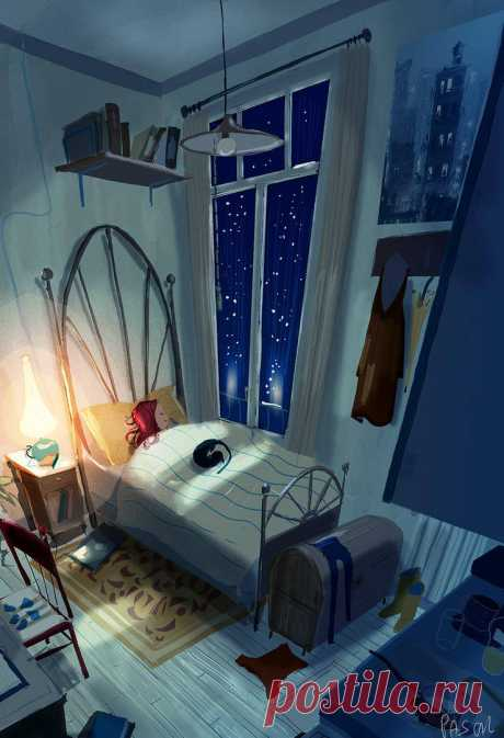 Never too old for a night light by PascalCampion on DeviantArt