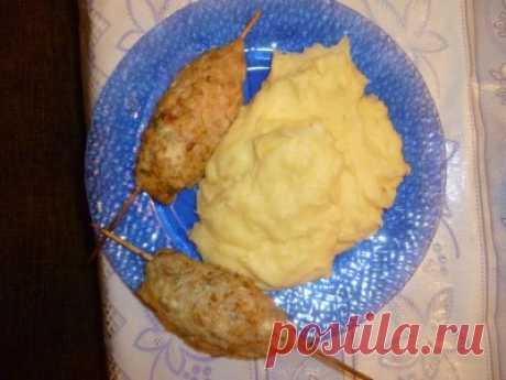 Люля-кебаб в домашних условиях из куриного фарша : Вторые блюда