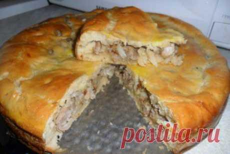(+1) - Татарский пирог | Любимые рецепты