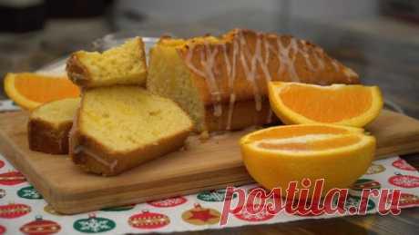 Апельсиновый кекс в духовке. Видео рецепт