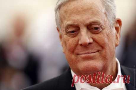 Умер американский миллиардер ифилантроп, 11-е место всписке богатейших людей мира
