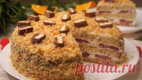 Мгновенный торт! Все будут без Ума!     Торт со сгущенным молоком. Очень простой и быстрый в приготовлении, не требует большого расхода продуктов. Получается очень вкусным, нежным, Соблазнительно аппетитным, мягким и ароматным, он прост…