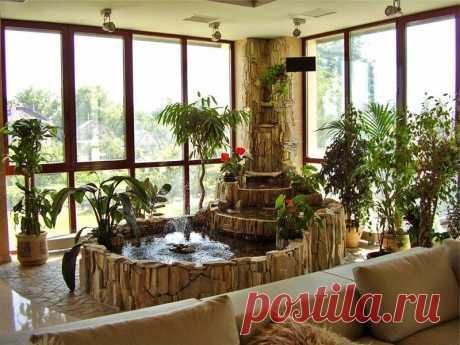 Фонтаны для комнат как способ уединения с природой | Жильё Моё