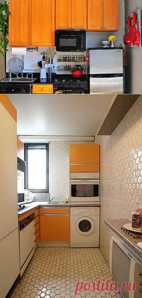 Идеи для маленьких кухонь / Дизайн интерьера /