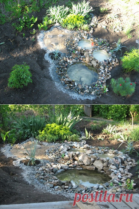 Пруд своими руками: соседка выкопала три ямы на заднем дворе… Я долго думала зачем?   Красивый Дом и Сад