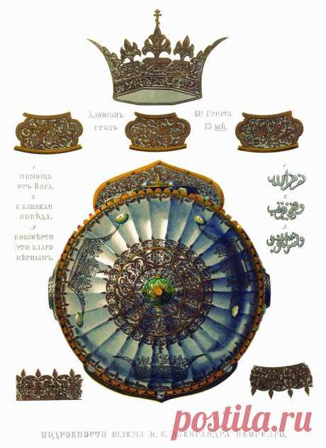 Почему на шлеме Александра Невского была надпись из Корана? | Русская семерка