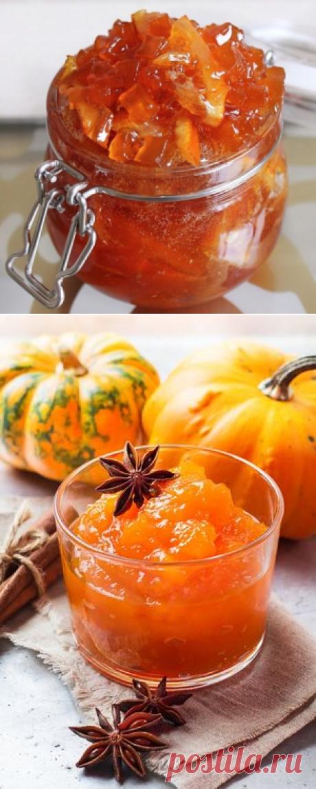 Варенье из тыквы и апельсина! Кулинарная находка сезона
