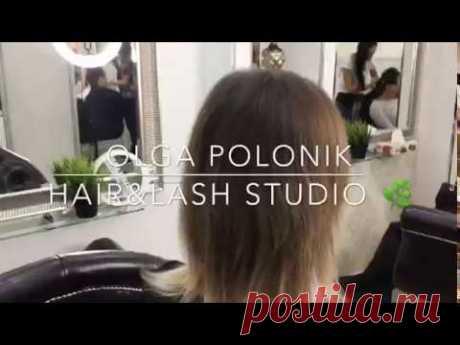 Как выглядит наращивание волос? Смотрим работы мастеров студии Ольги Полоник в Москве