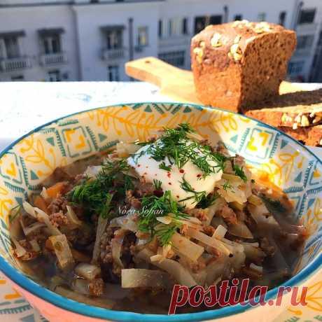 Капустный суп Сегодня у меня простой, но очень вкусный домашний суп. Рецепт нашла на американском сайте, там он так и называется —easy cabbage soup. Это действительно бесхлопотный рецепт из ингредиентов, которые...