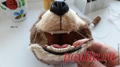 Как сделать зубки для тедди – Ярмарка Мастеров