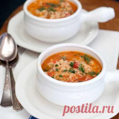 Рисовый суп с копченым окороком — Sloosh – кулинарные рецепты