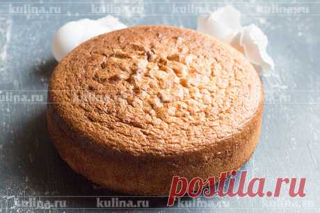 Бисквит для торта: получается всегда – рецепт приготовления с фото от Kulina.Ru