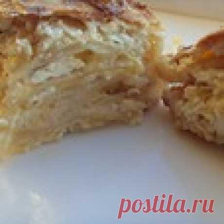 Ленивый сабурани Кулинарный рецепт