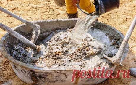Цементный раствор и бетон будет прочнее в десятки раз. Простой и эффективный способ. | Дачный СтройРемонт | Яндекс Дзен