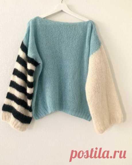 Как оригинально оформить рукава вязаного изделия. | Вяжу для души | Яндекс Дзен