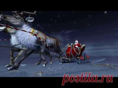 Santa Claus 3D Screensaver HD