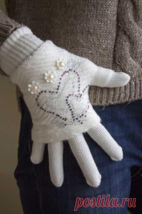 Как связать перчатки: 80 фото подробного описания для начинающих