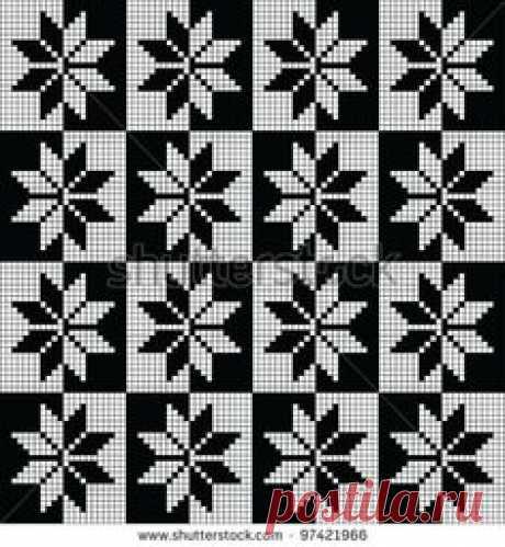 Norwegian Reversed Stars pattern
