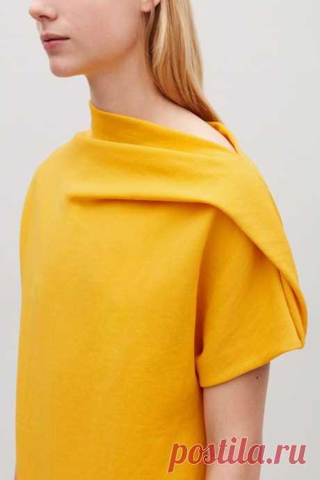 Идеи оригинального оформления верха блузок и платьев - Сам себе мастер - медиаплатформа МирТесен