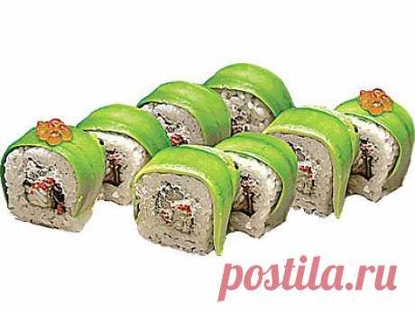 Авокадо Урамаки - myrolls.ru - 1000 рецептов суши и роллов