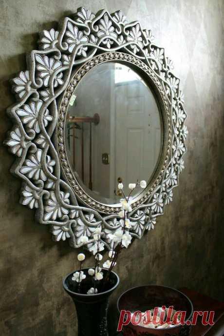 Зеркало как произведение искусства: 15 чудесных работ - Ярмарка Мастеров - ручная работа, handmade