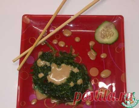 """Ореховый соус для салата """"Чука"""" – кулинарный рецепт"""