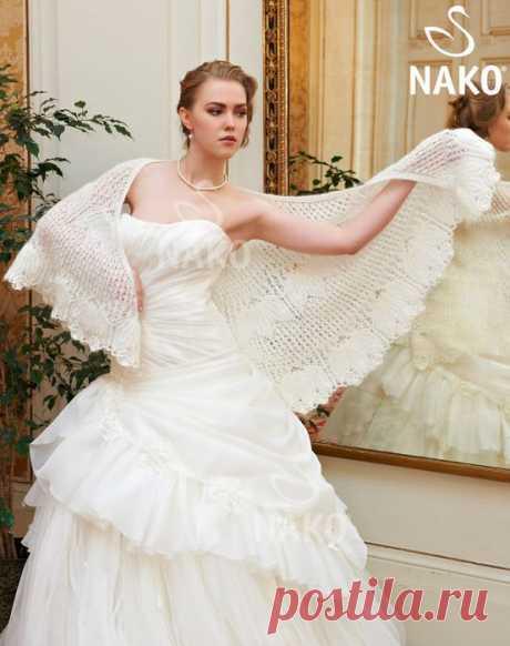 Белый танец - шаль.