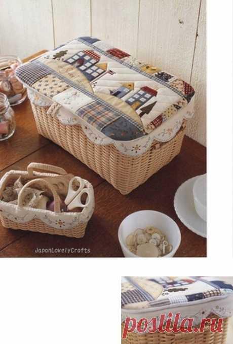 Одежки для плетеных корзинок — Делаем руками