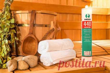 Специальные строительные термостойкие герметики для чистых помещений: парильных, хамамов и бань