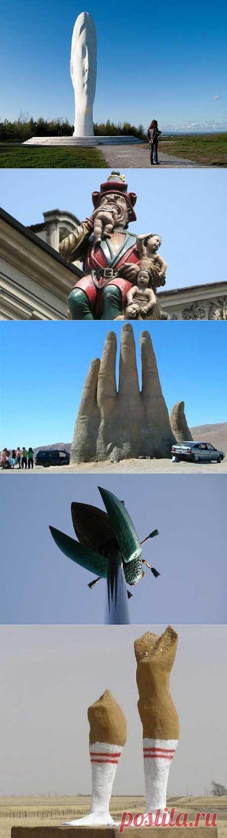 Самые странные статуи на планете