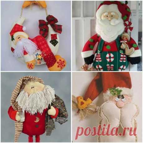 Более 10 пресс-Формы Санта Клаус из Фетра для Печати