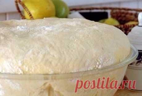 Как приготовить тесто как пух - рецепт, ингредиенты и фотографии