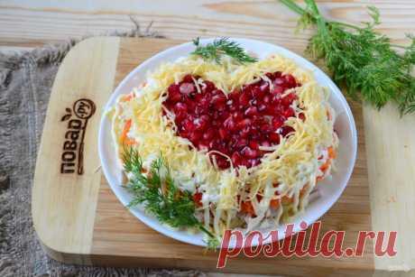 Покори меня салатом! Легкие и вкусные блюда ко Дню Святого Валентина - Статьи на Повар.ру