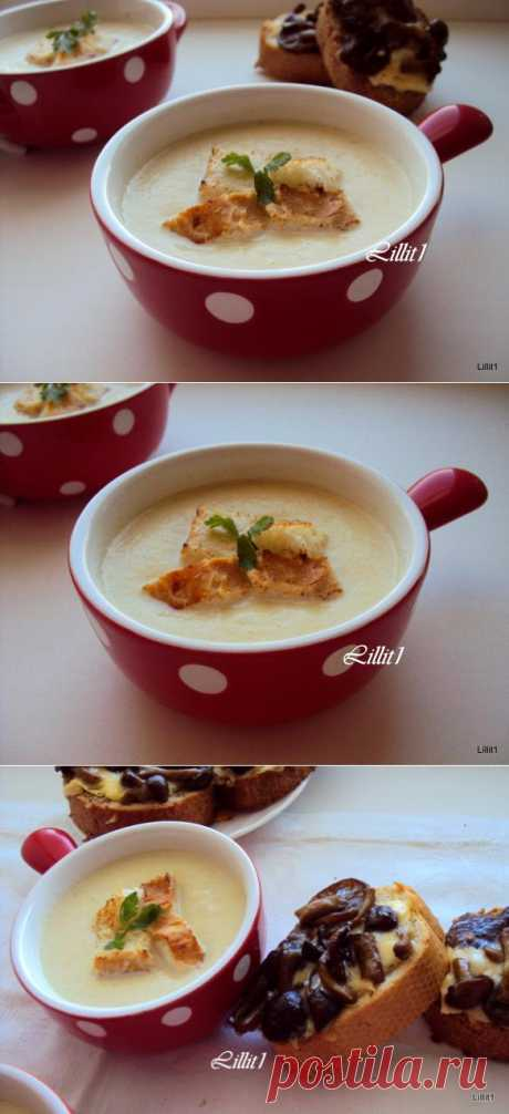Суп-пюре из кабачков Полезные кобачки в вкуснейшем рецепте. Читаем и готовим :)