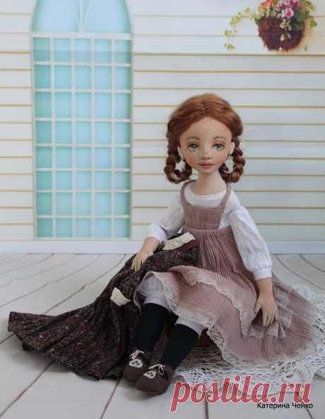 Текстильные куклы Катерины Ченко - 17 Февраля 2017 - Кукла Тильда. Всё о Тильде, выкройки, мастер-классы.