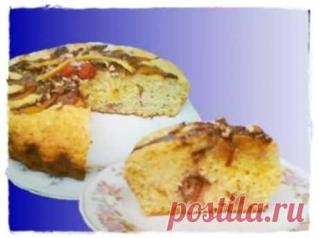Быстрый творожный пирог с клубникой и другими летними фруктами | Чай, кофе и ТОРТОМАНИЯ