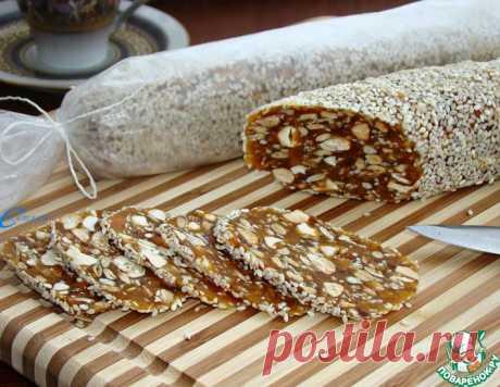 Финиковая колбаска – кулинарный рецепт